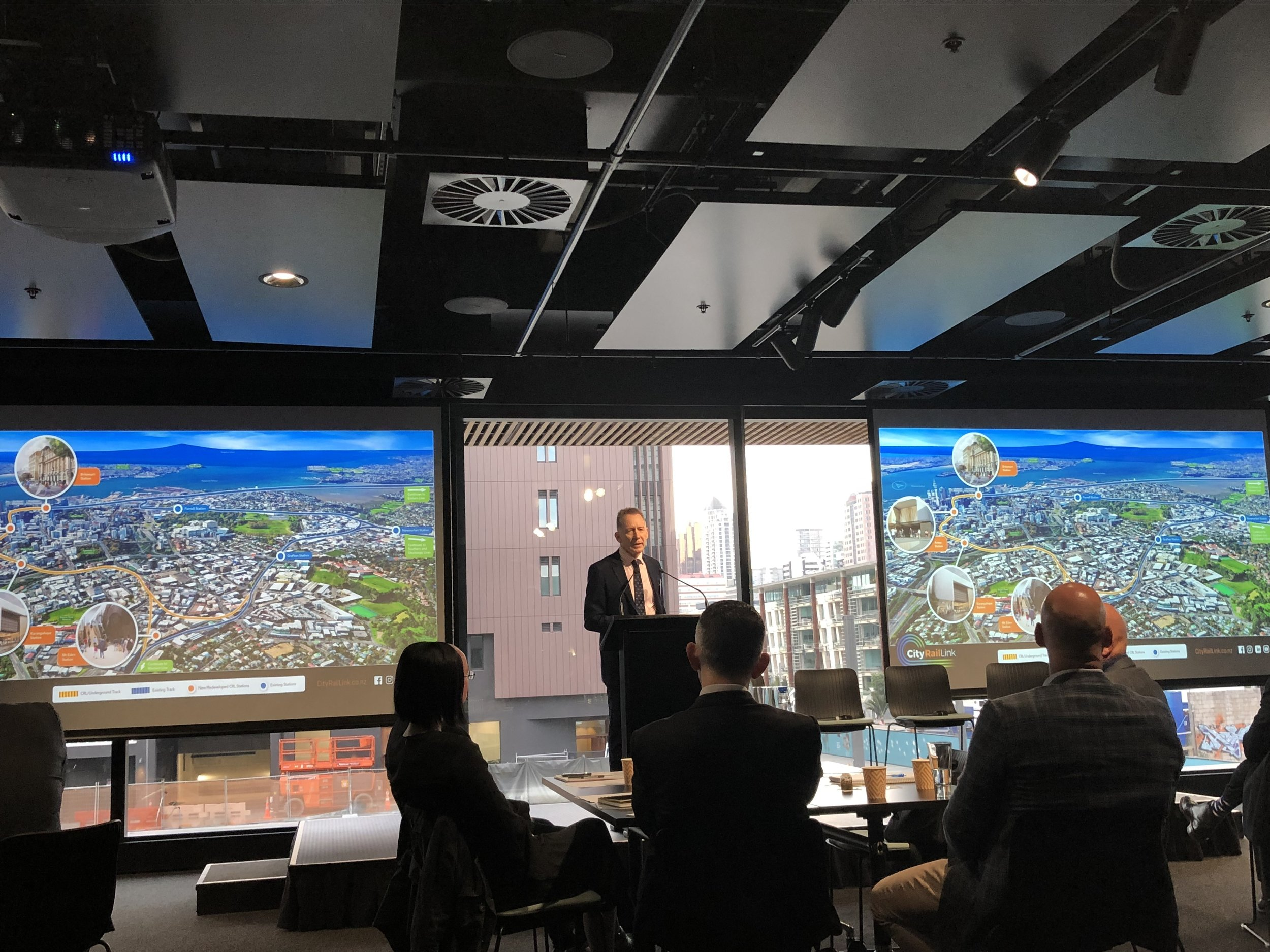 Our CE Dr. Sean Sweeney presented at the city centre CE Forum 8  May 2019
