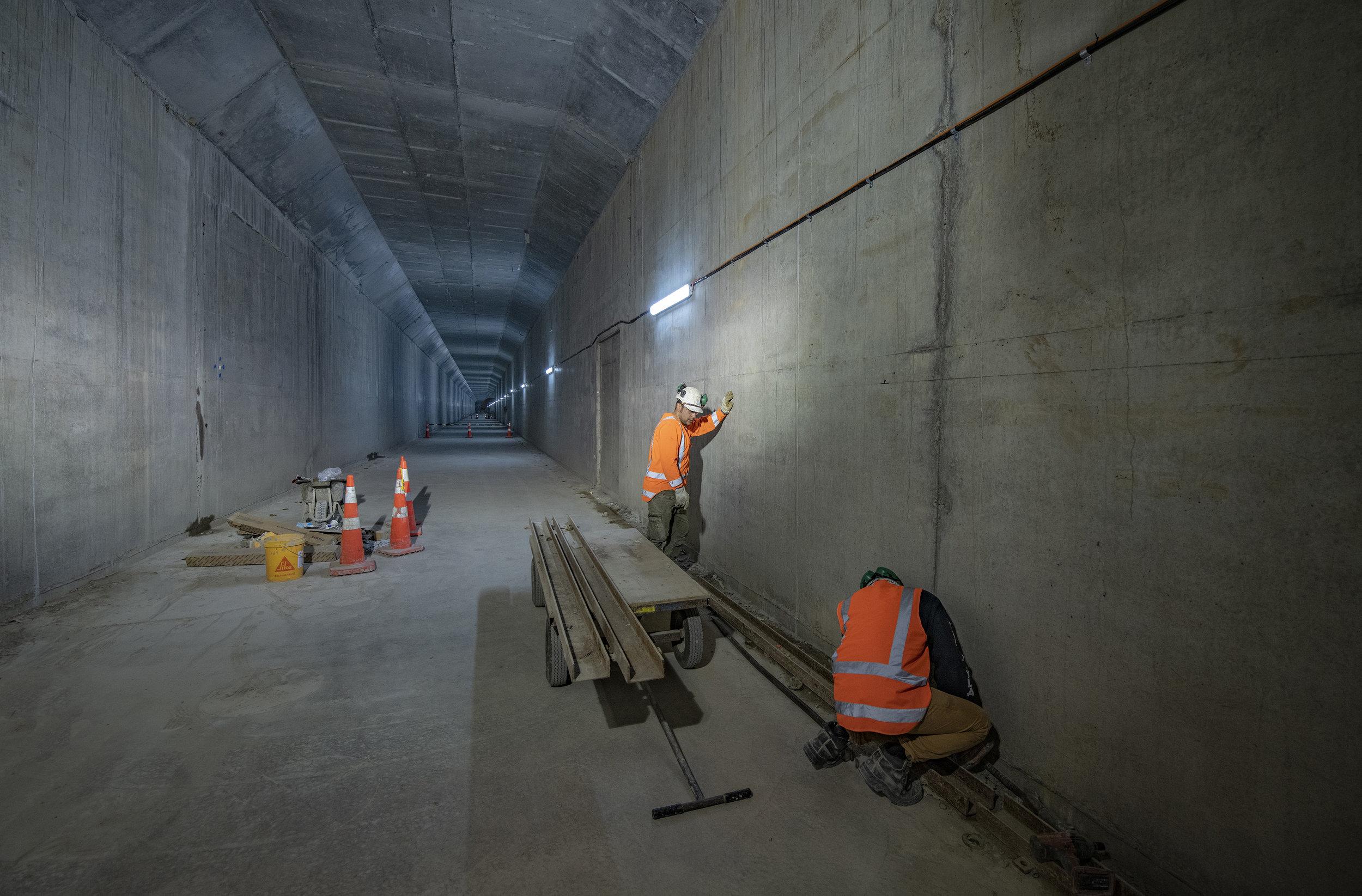 CRL tunnel progress 9 May 2019