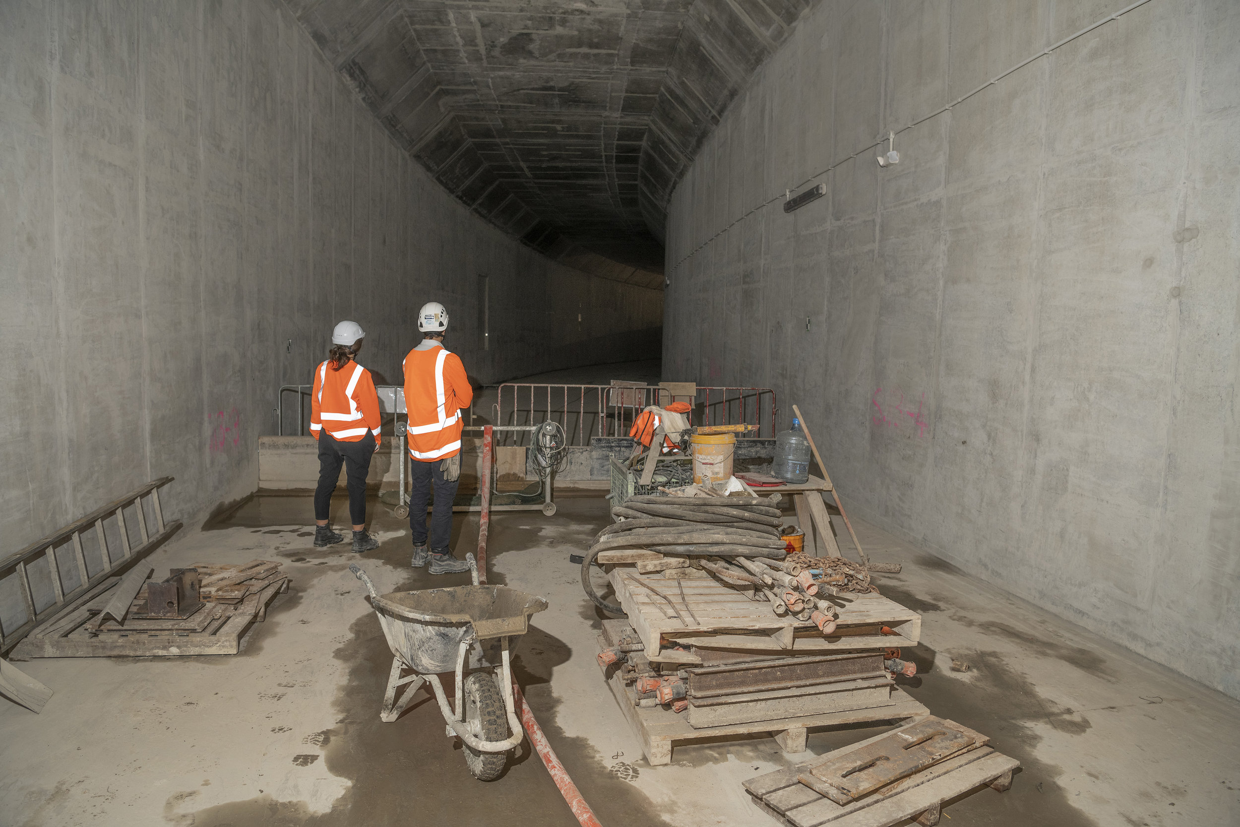 Tunnel construction 9 May 20219