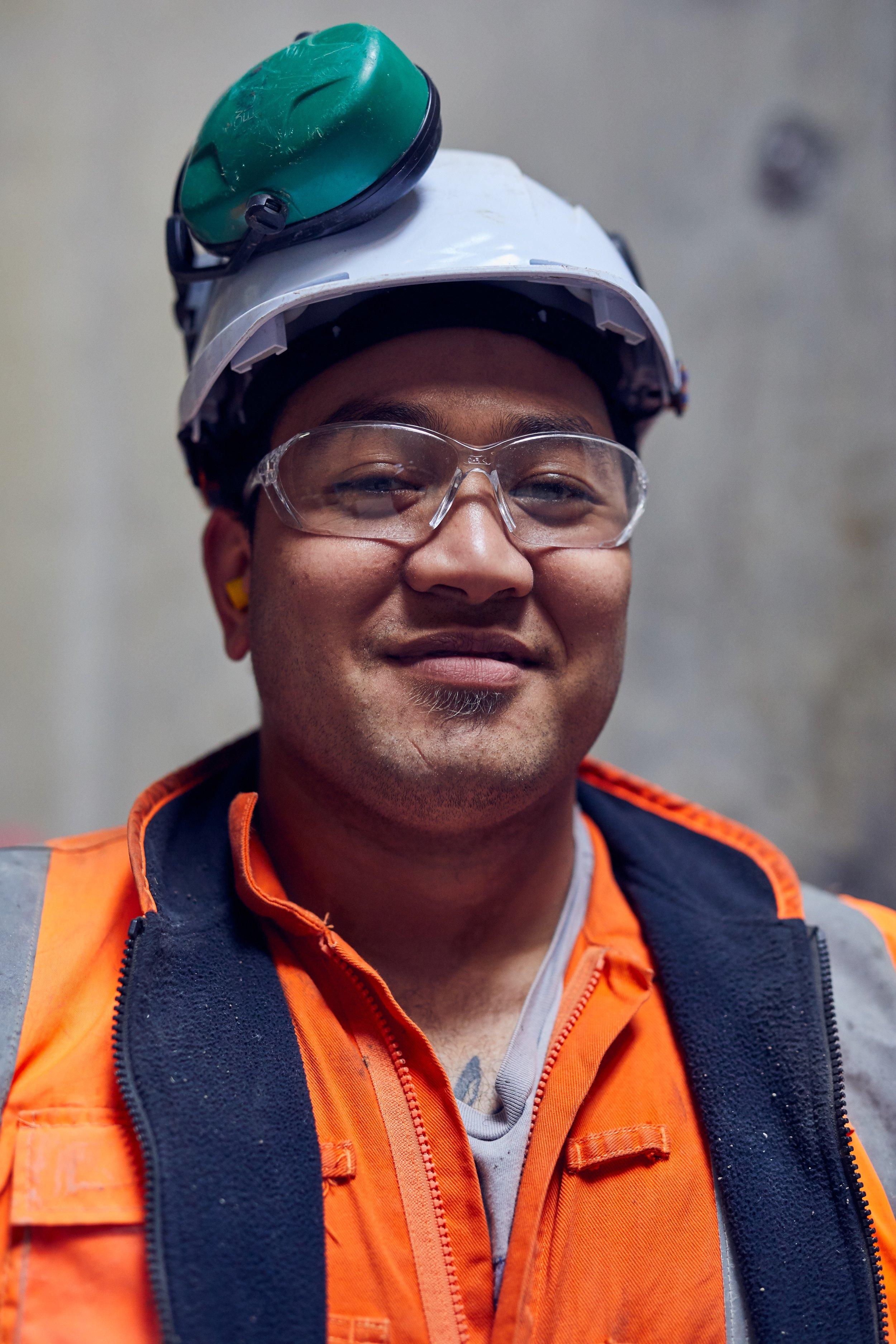 Construction worker June 2019