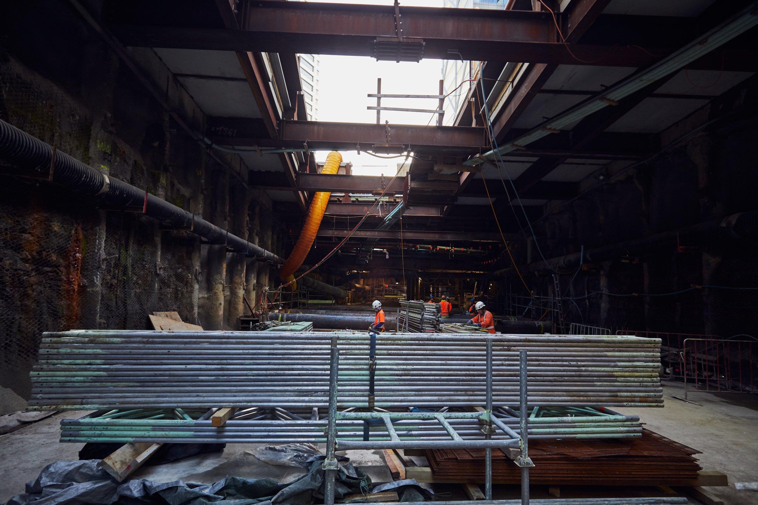 Albert St construction June 2019