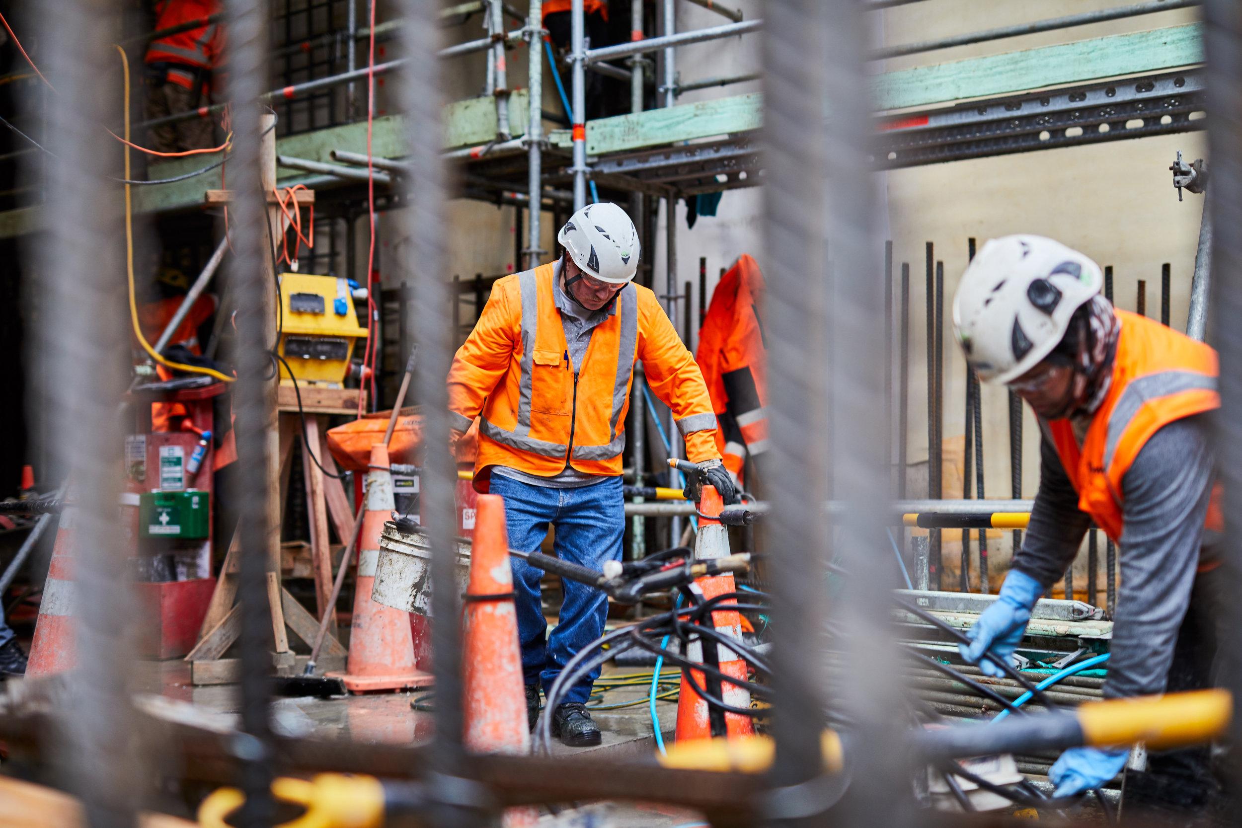 Lower Queen Street tunnel work 26 June 2019