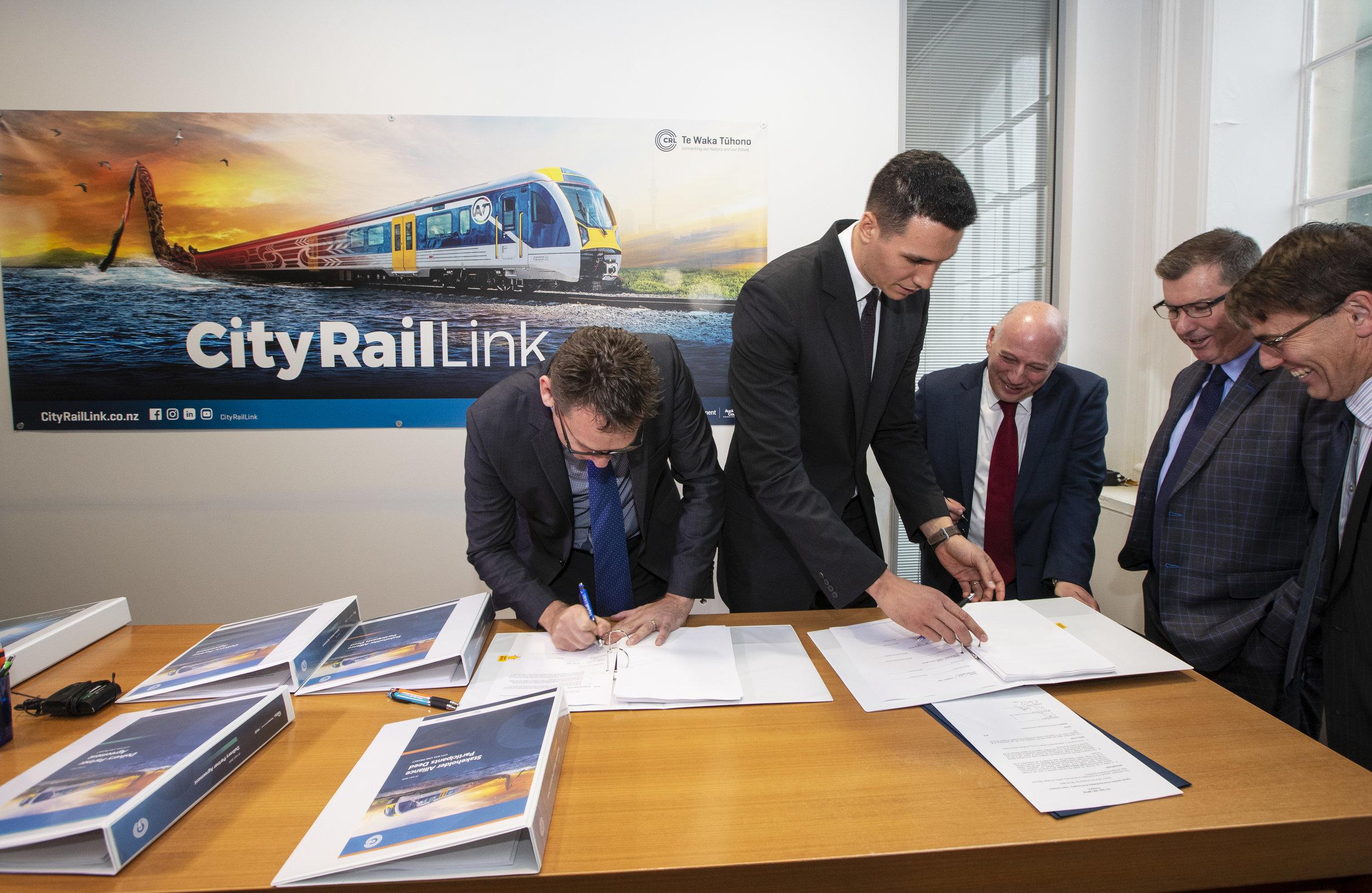 Link Alliance signing 19 July 2019