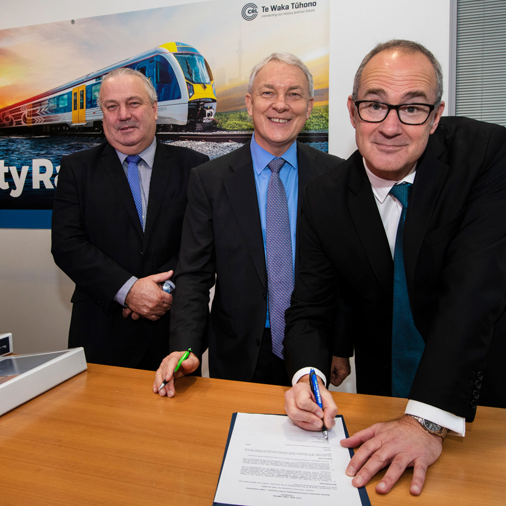 LINK ALLIANCE CONTRACT SIGNING -