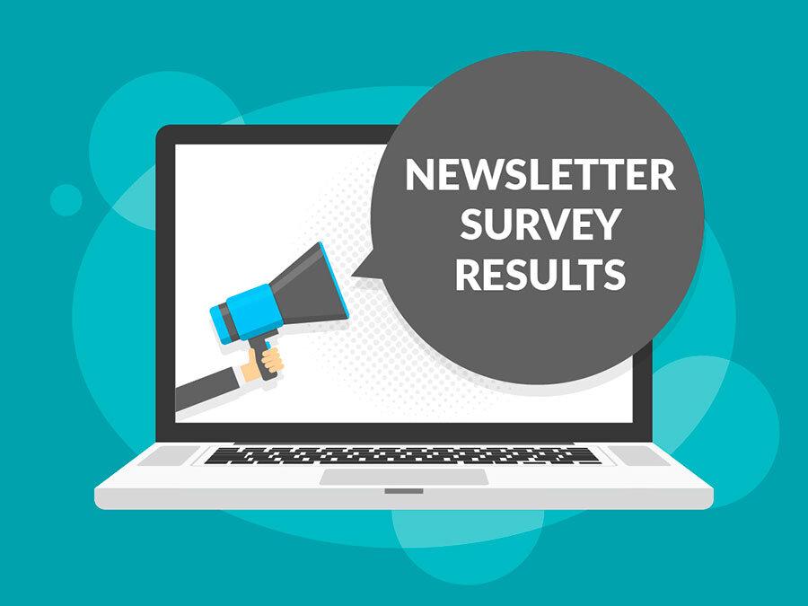 Newsletter survey results