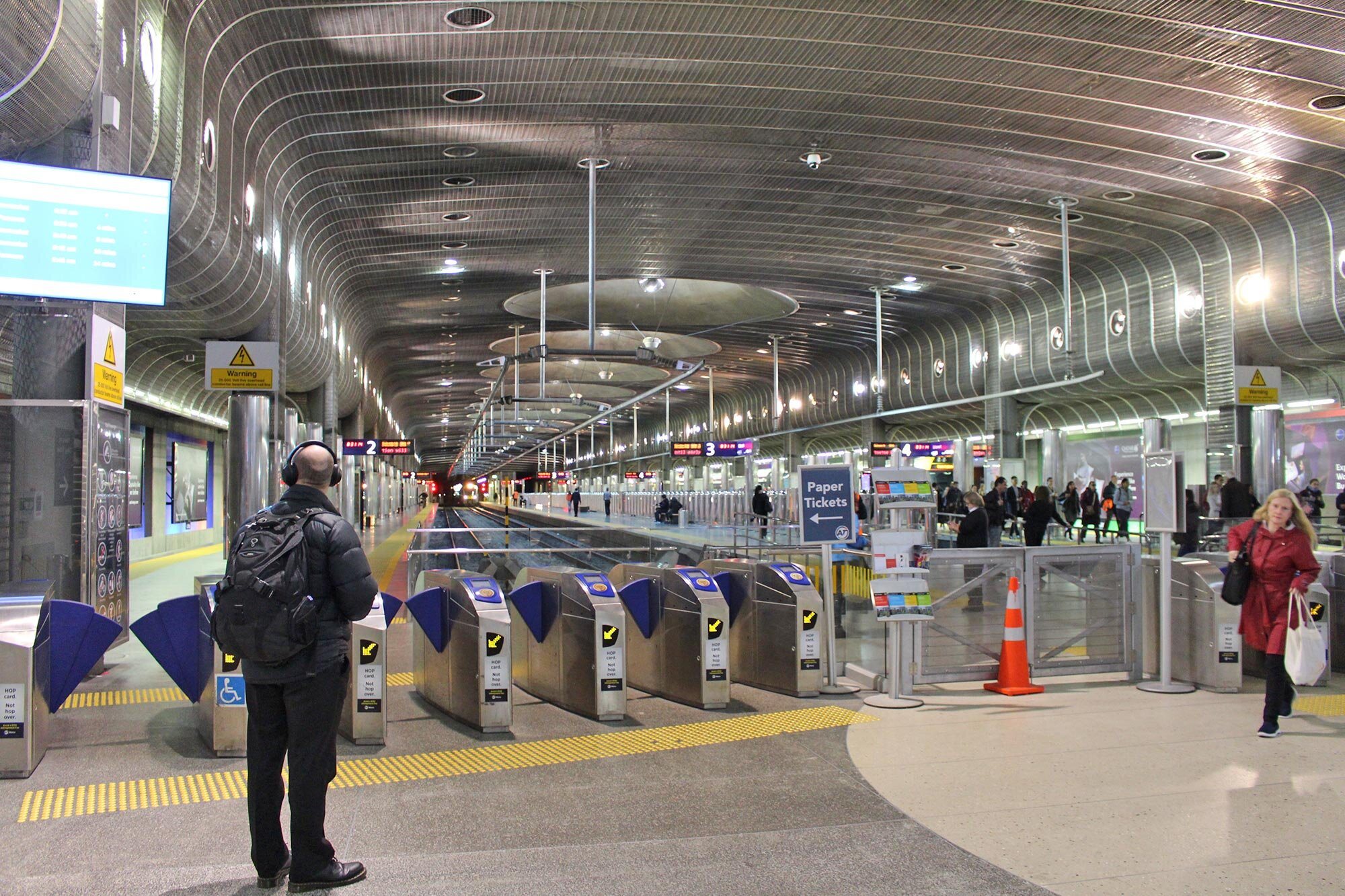 Britomart Station will have eight new escalators in total
