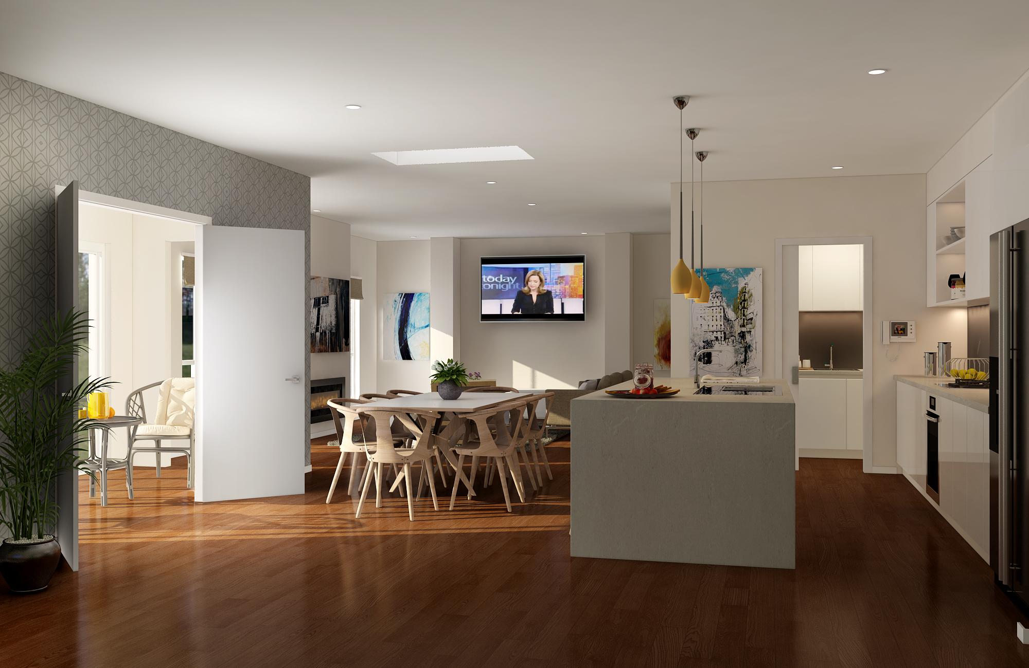 Rex Homes Contemporary Living