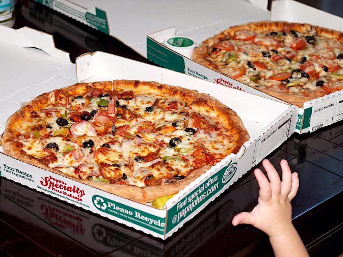 Fun fact, an early Bitcoin user once purchased 2 pizzas for 10,000 Bitcoins, which at the time was about $40 USD. The value of that pizza is now US$188 million!