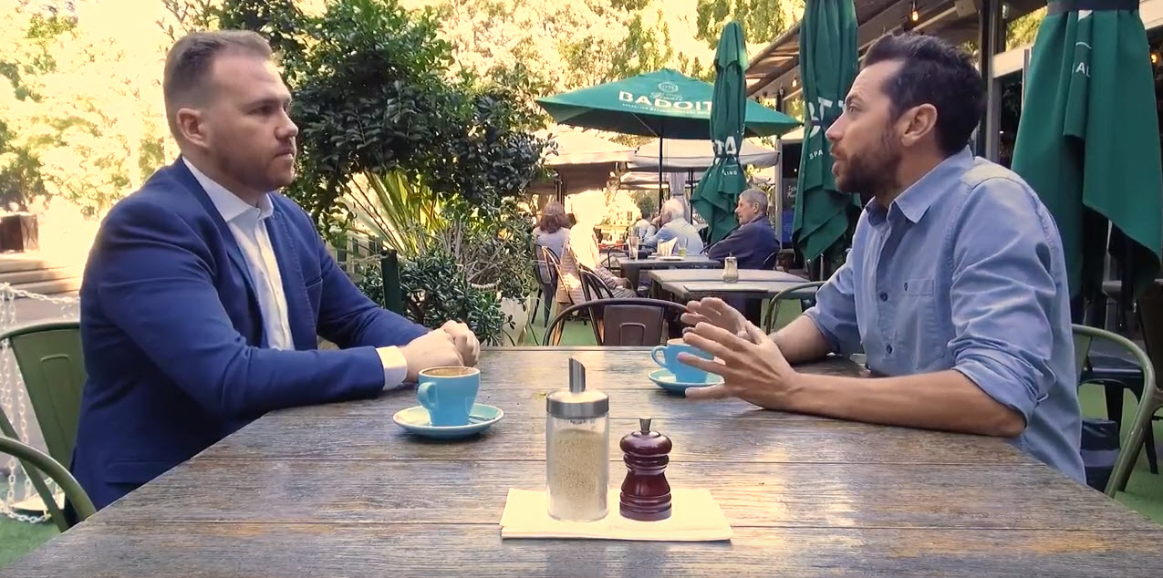 Glen James is  ANZ 's insurance specialist and is the face for their national consumer facing campaign along with media personality, James Matheson.  To view one part of this campaign,  click here
