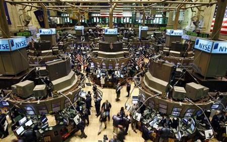 The floor at the New York Stock Exchange. Pretty much for theatre now days.