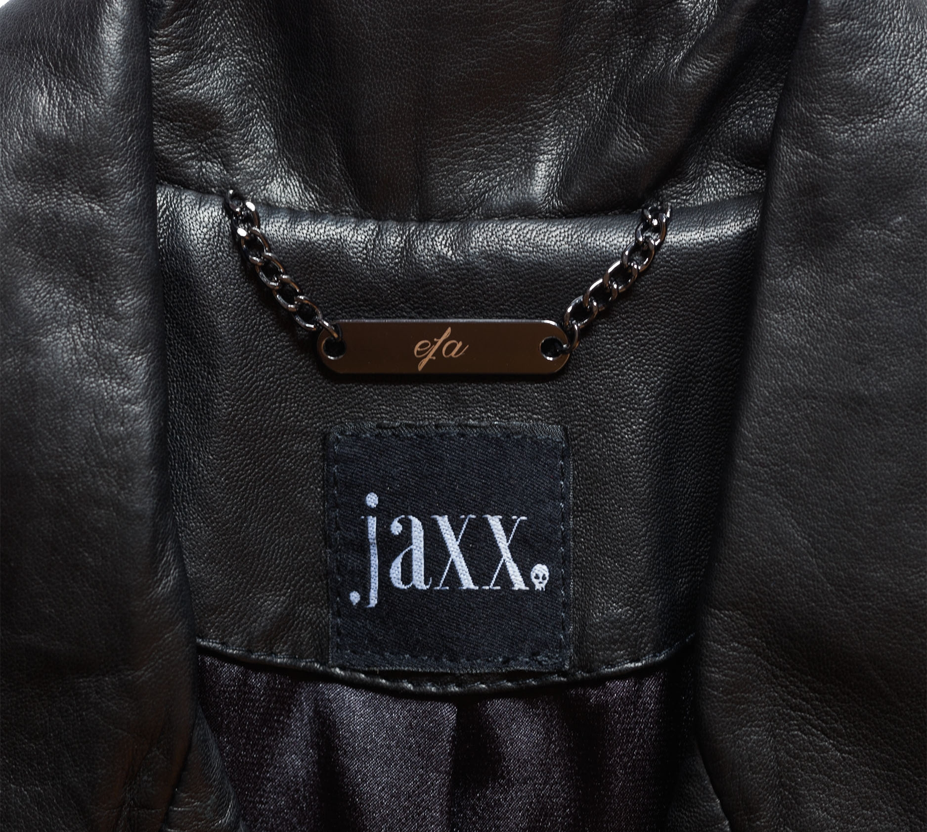 Add Your Initials - Personalise your Jaxx in customisable initials and font.