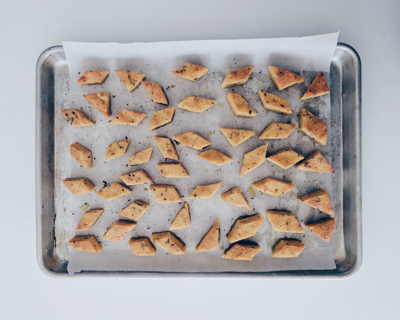 Panissa, just out of the oven. The perfect appetizer, snack, or main dish.