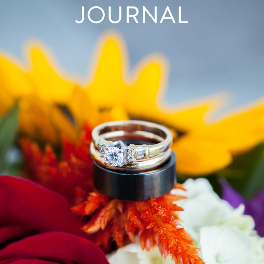 Eastern Shore Virginia Wedding Photograph - Rings Detail - Footer Button