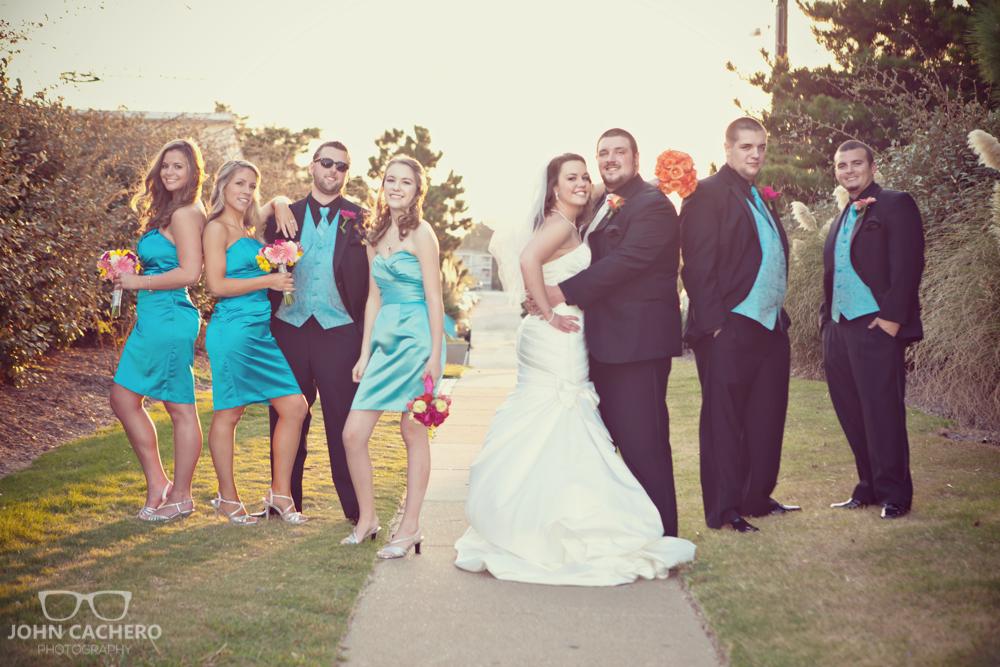Virginia Beach Wedding Photograph by John Cachero Photography