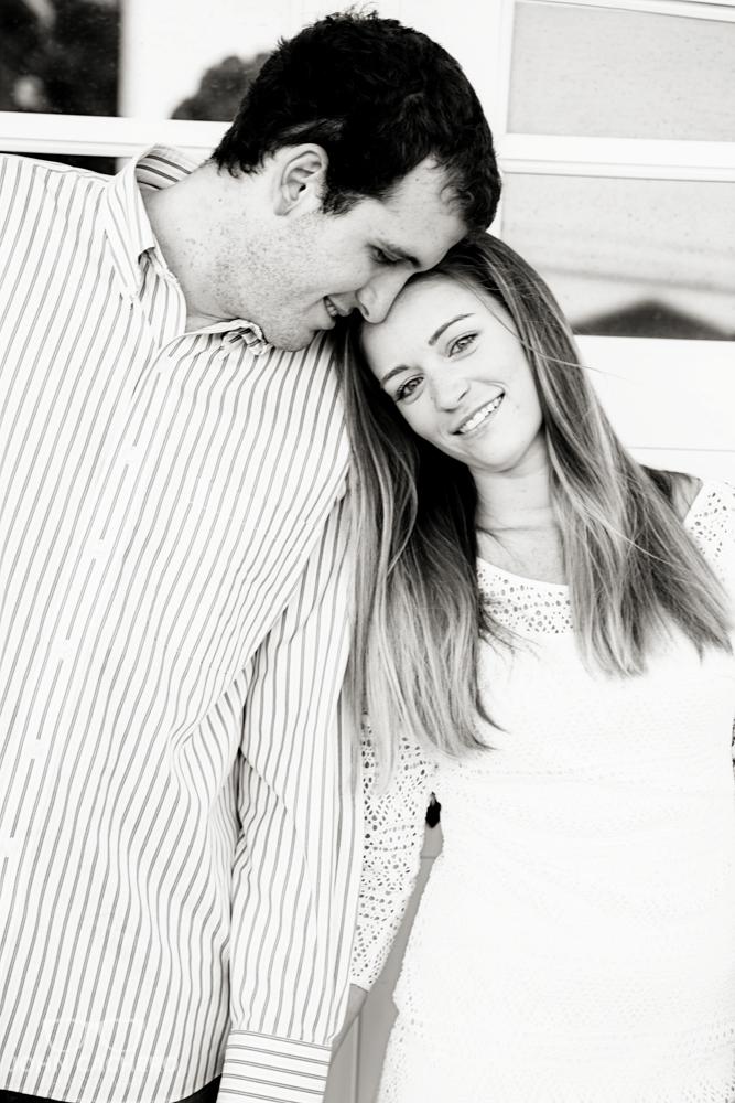 Virginia Beach Engagement Portrait Photograph by John Cachero Photography