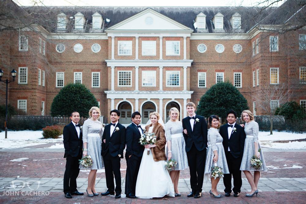 Regent University Virginia Beach Wedding Photograph by John Cachero Photography