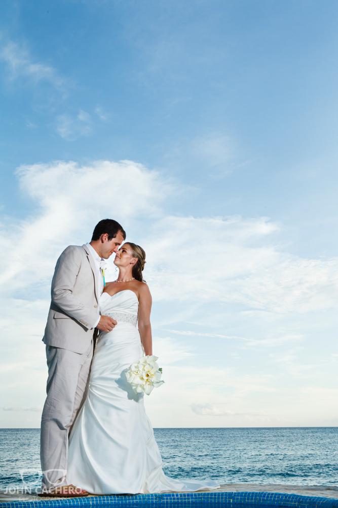 Dominican Republic Destination Wedding Photograph by John Cachero Photography