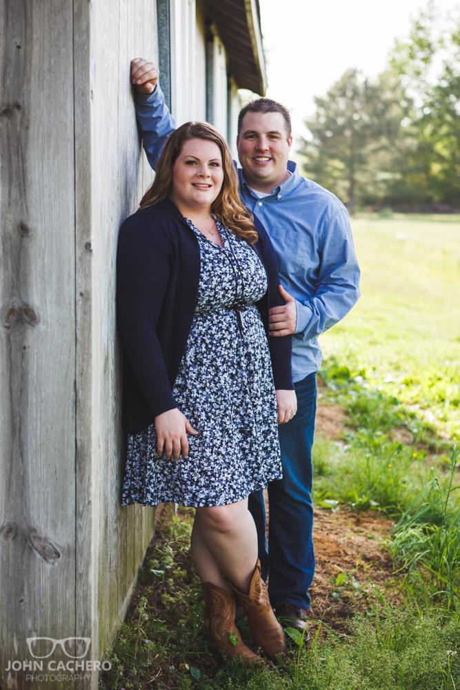 Chesapeake Virginia Engagement Portrait Photograph by John Cachero Photography