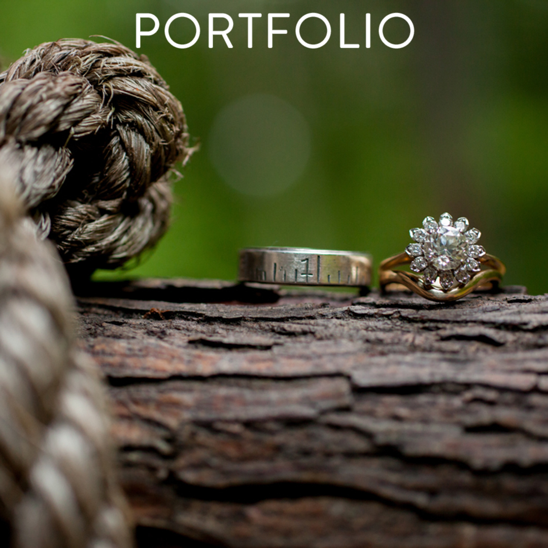 Surry County Wedding Photograph - Rings Detail - Footer Button