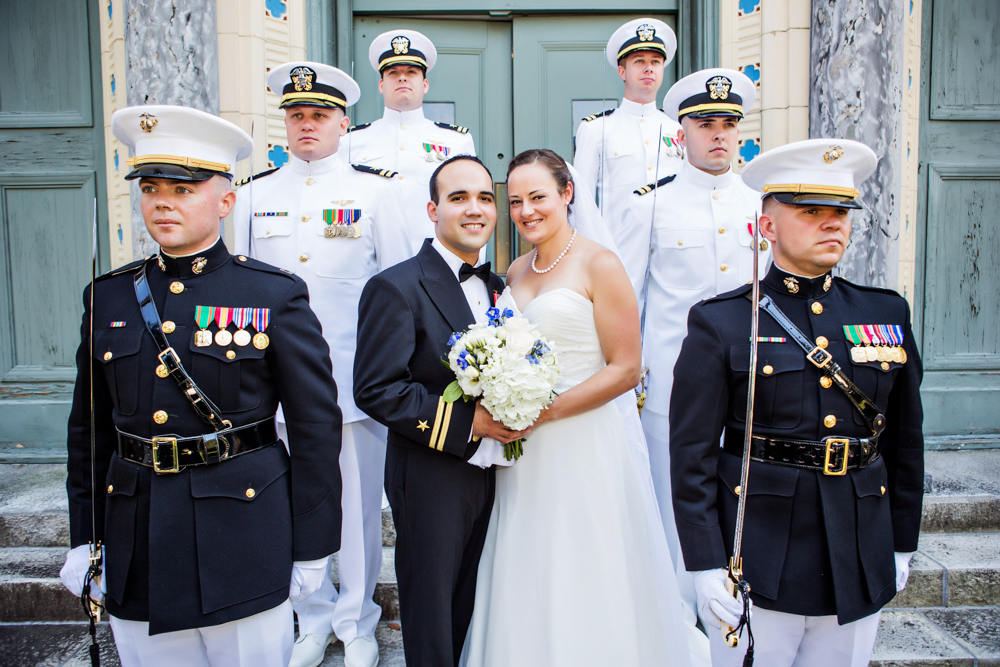 Sacred Heart Catholic Church Wedding Photograph - Norfolk Virginia - Julianne And Rich -by John Cachero for Ross Costanza Photography
