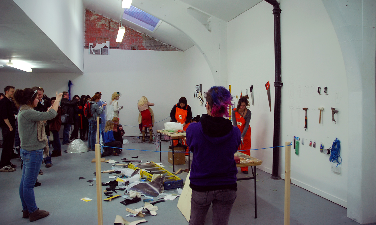 CUTS (during event), 2011