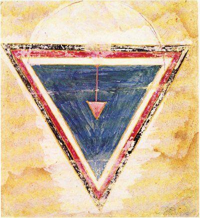 yoni art triangle