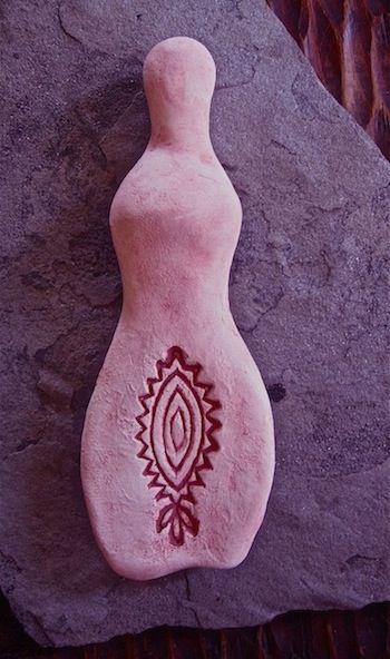 fertility goddess yoni art