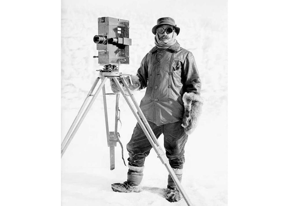Herbert Ponting - Jan 1912