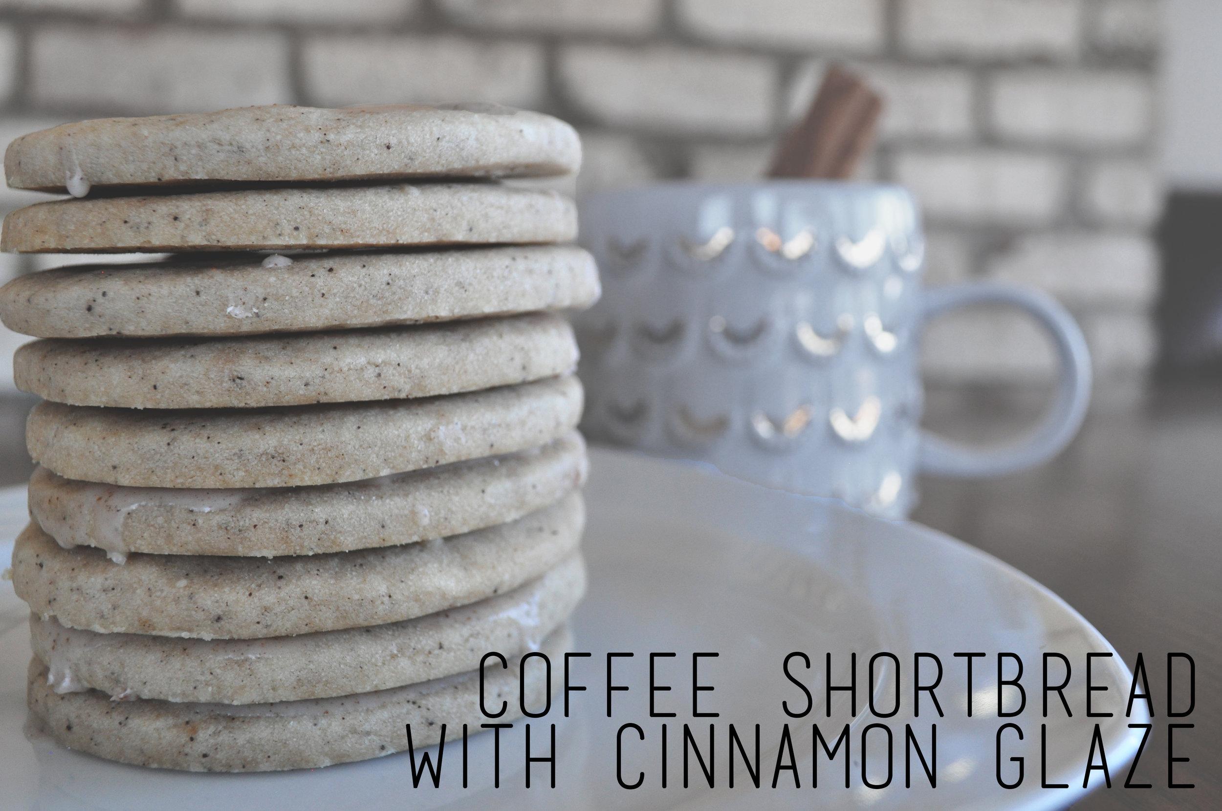 Coffee Shortbread