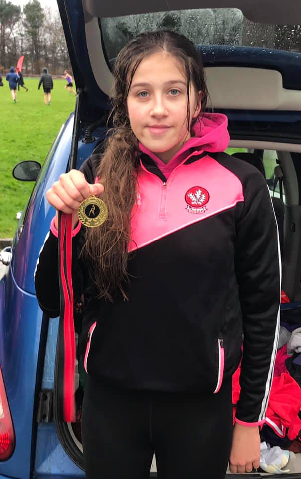 The winner of the U16 Age Group – Niamh McGarry