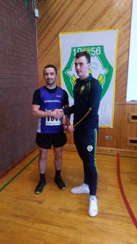 Springwell RC's Patrick Gallagher at St Davogs 5k