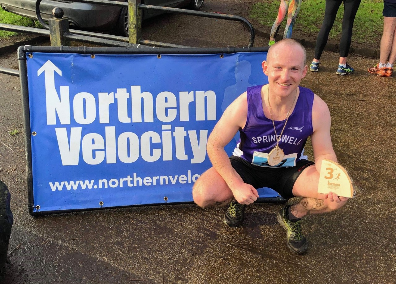 Christopher McNickle – 3rd at the Northern Velocity Garvagh 10k