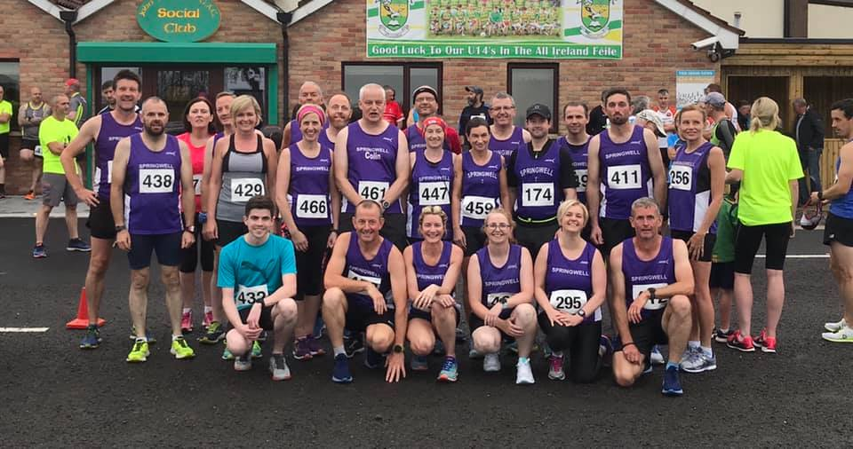 Springwell RC at the Glenullin 5 & 10k