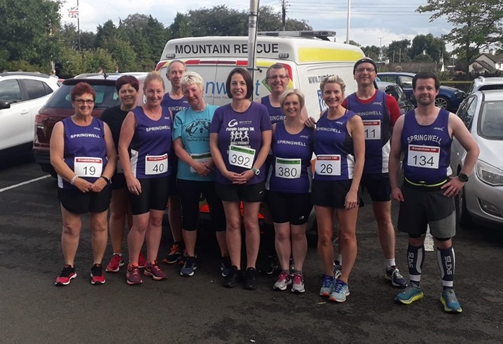 Springwell RC at the Broughshane 5 & 10k