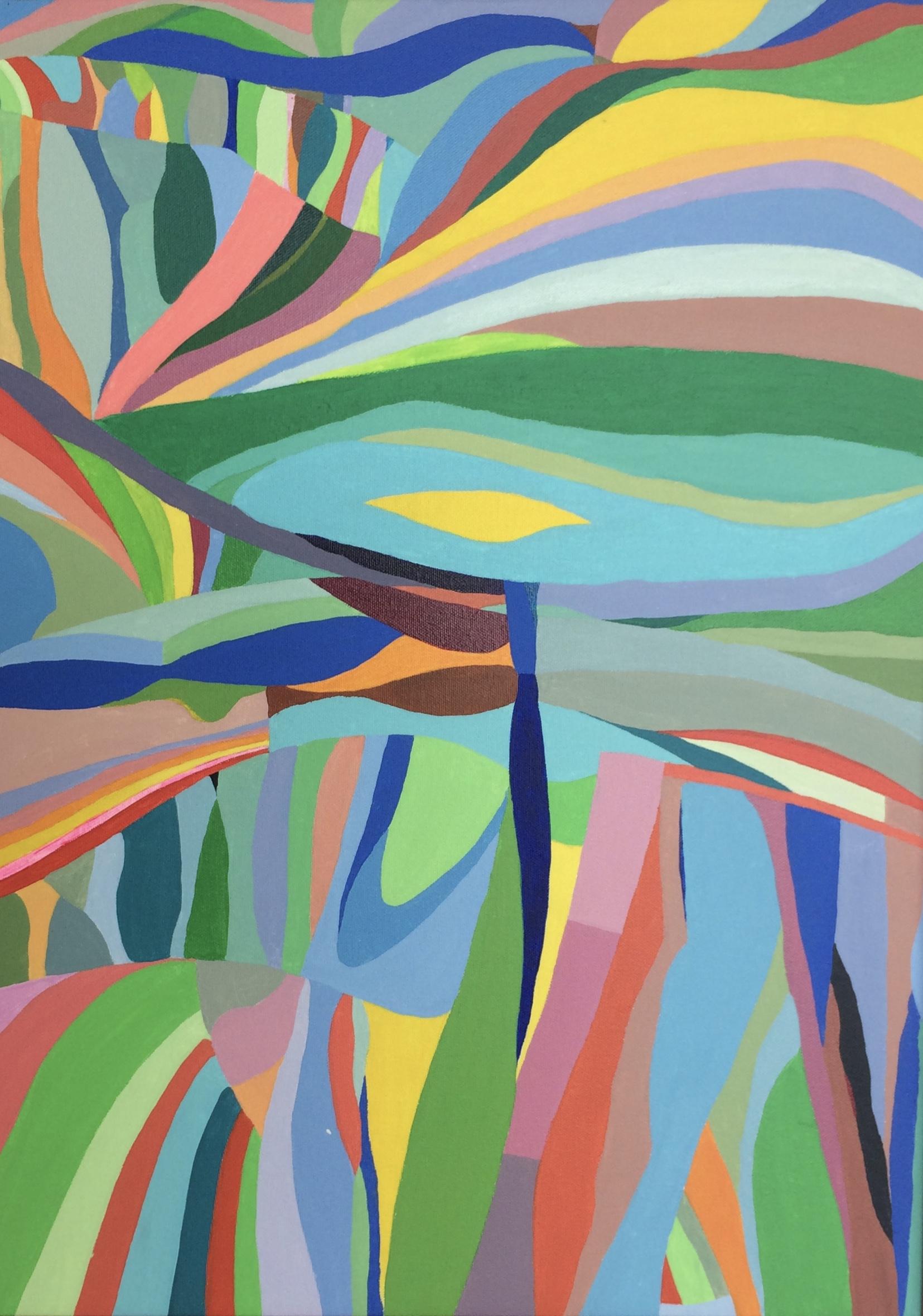 Jungle - 2013 - 24x19 Acrylic on Canvas
