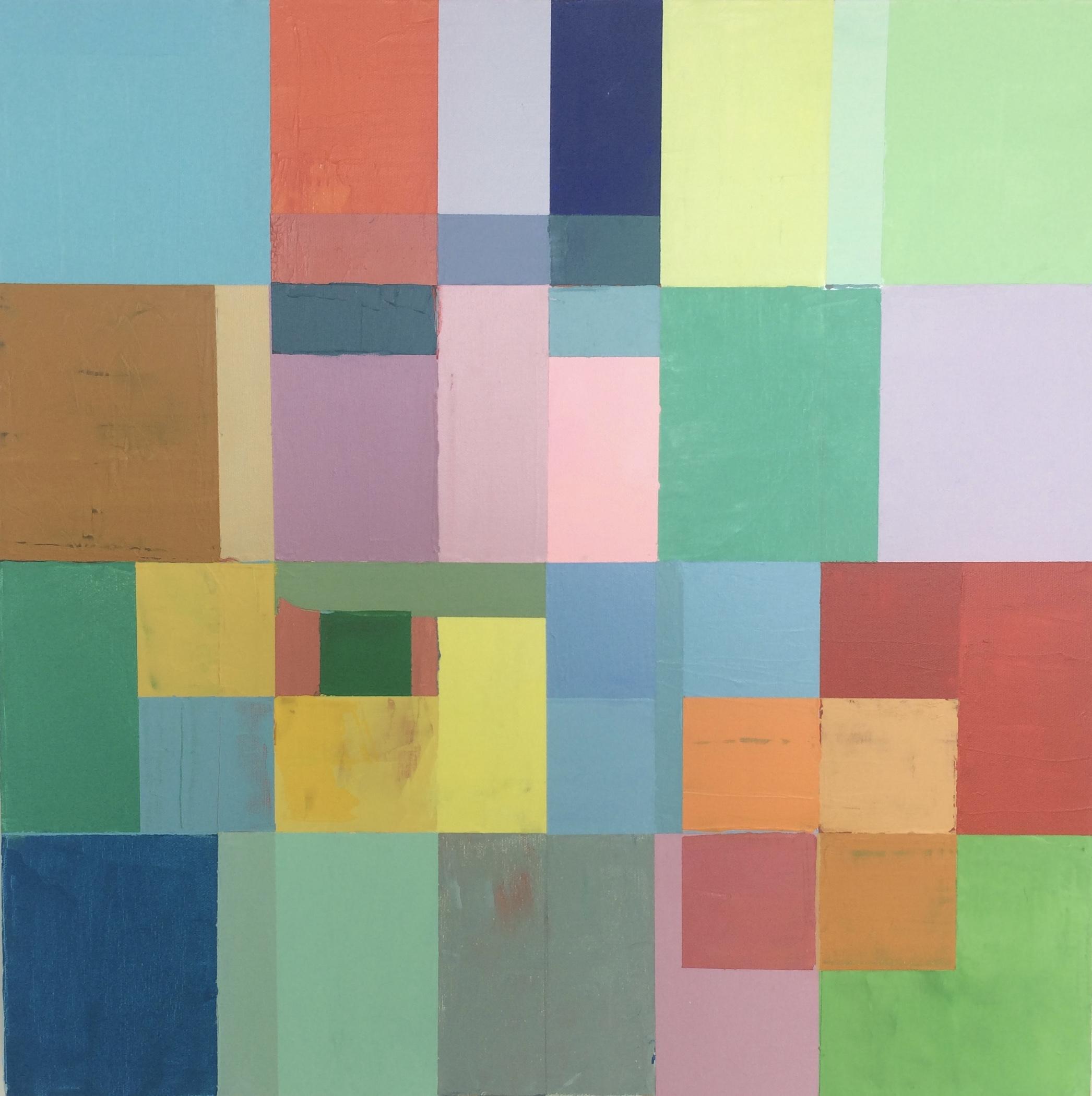 Block-us 5 - 2014 - 24x24 Acrylic on canvas