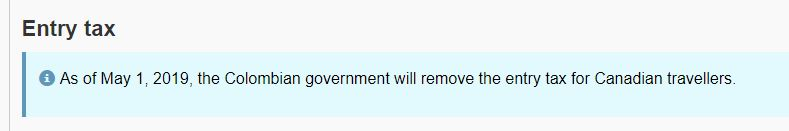 Found on  Government of Canada Travel  website.