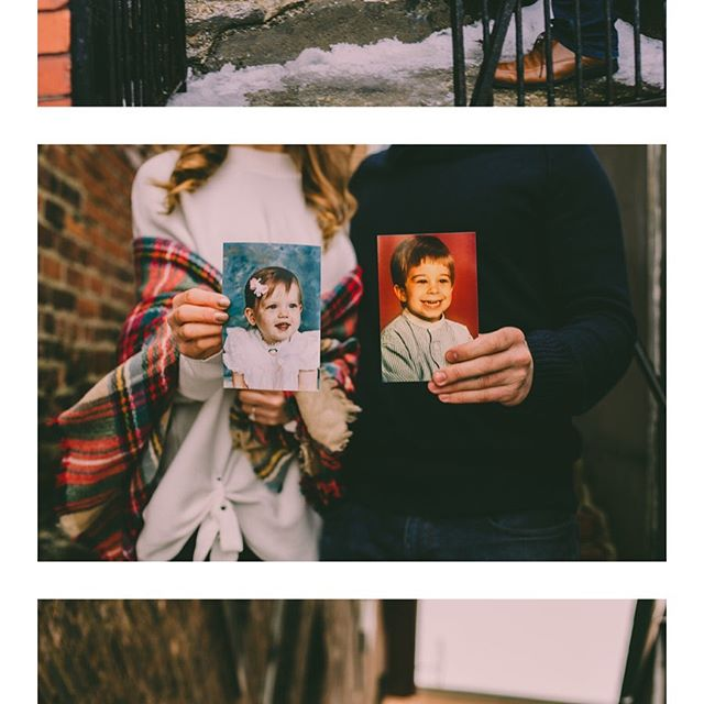 #throwback to one of my favorite #engagement sessions in #littleitaly #downtowncleveland !! How adorable are they!!? 😍📸 #cuties #cle #thecle #photoinspo #engagementinspo #clevelandrocks #ohioengagements #winterengagement