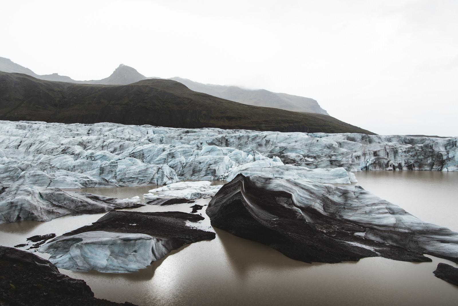 iceland road trip day 2 - svinafellsjokull stokksnes jokulsarlon