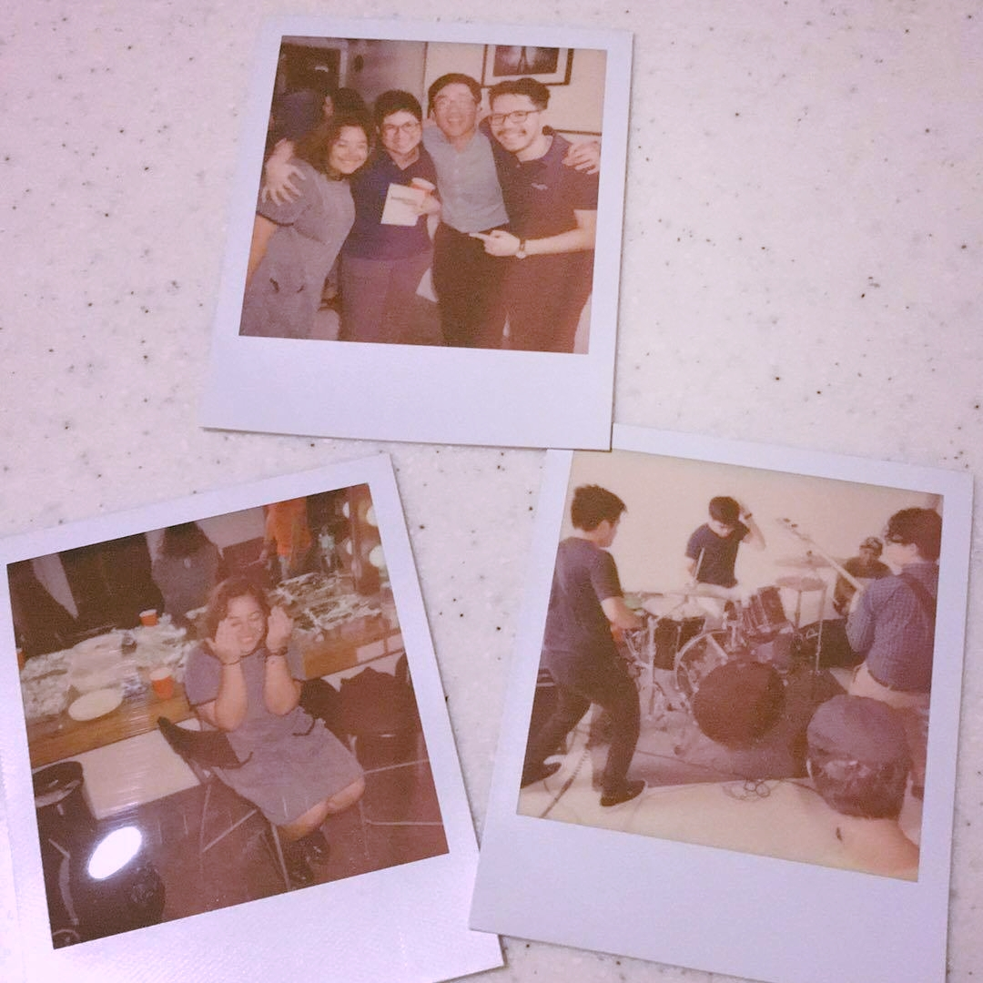 Polaroids from Ordy (with James & Ramon, Tom's Story)