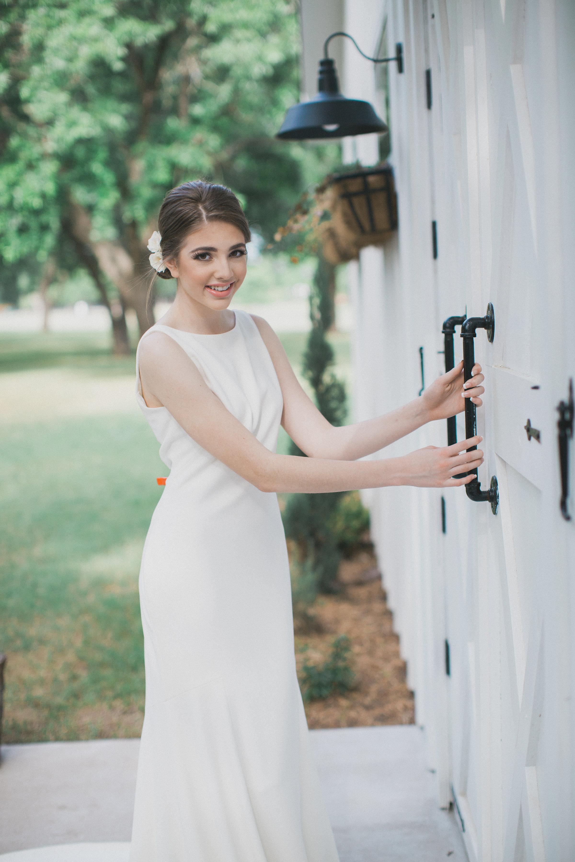 White Barn Wedding | Southern Summer White Barn Wedding in Dallas, TX