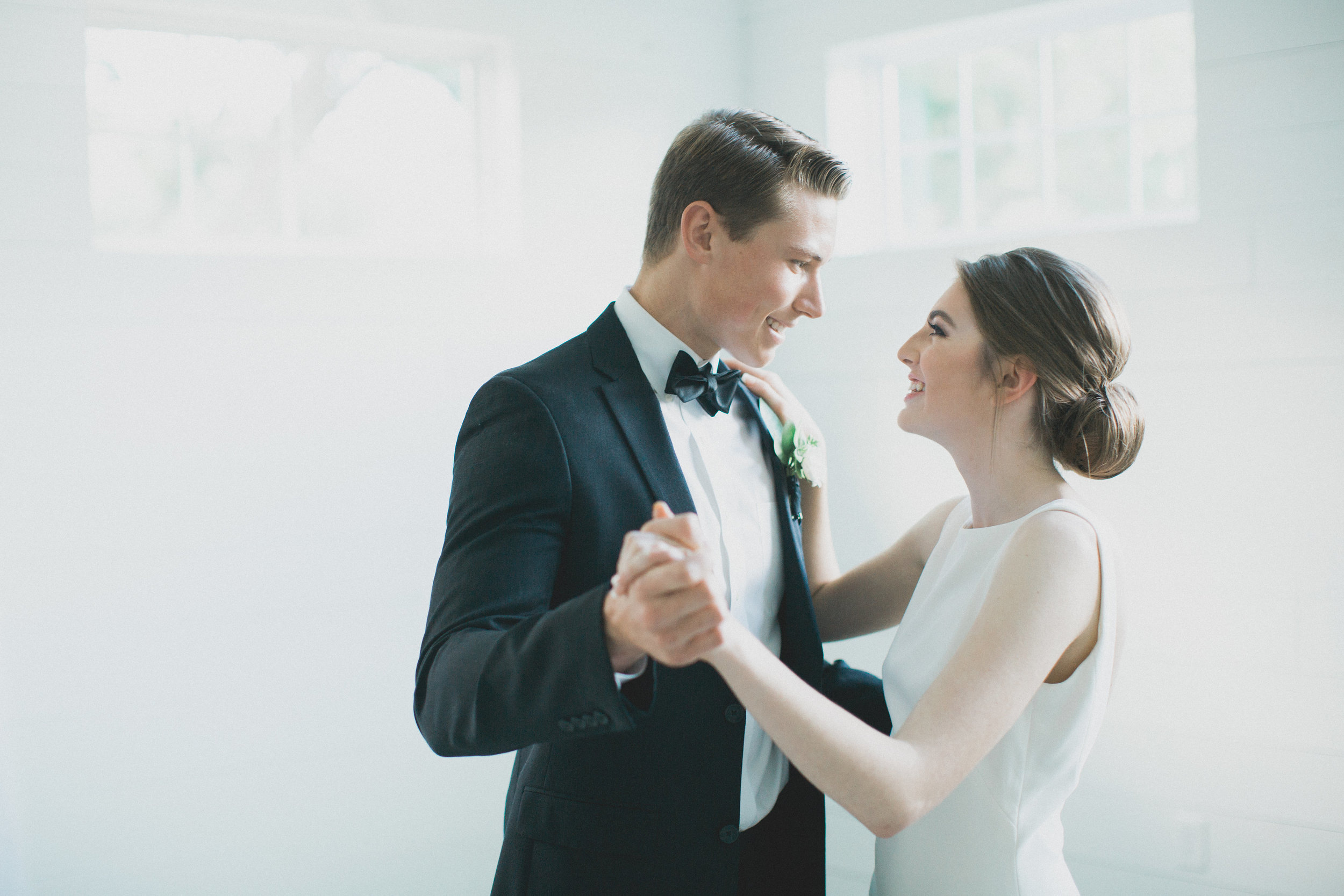 First Dance | Southern Summer White Barn Wedding in Dallas, TX