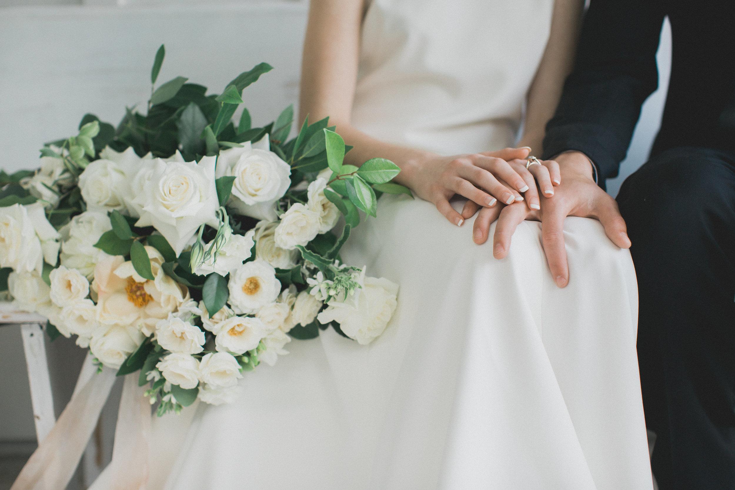 Summer Wedding Bridal Bouquet Ideas | Southern Summer White Barn Wedding in Dallas, TX