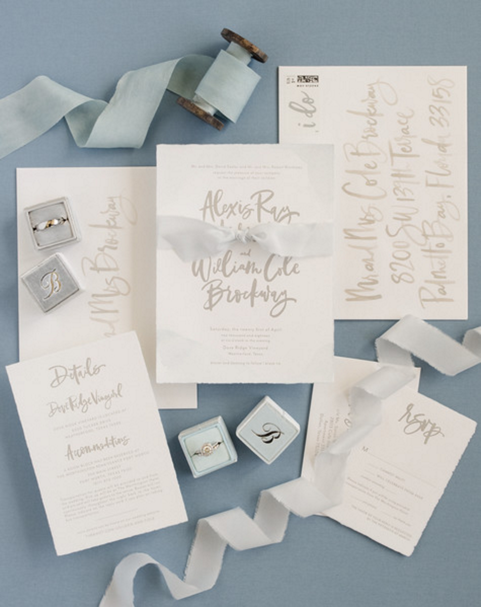 Custom Wedding Invitation Design | Fort Worth Wedding Planning