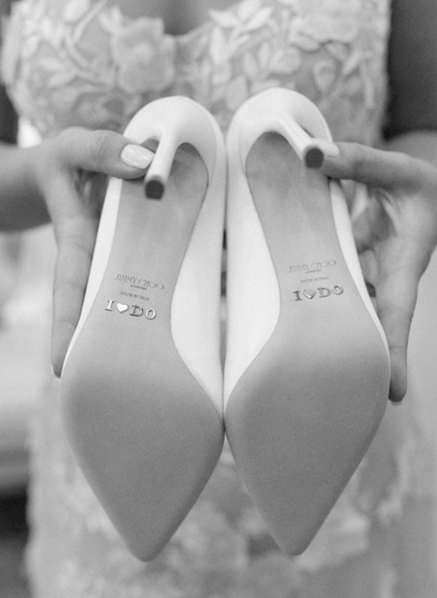 Spring Texas Vineyard Wedding | Wedding Shoes