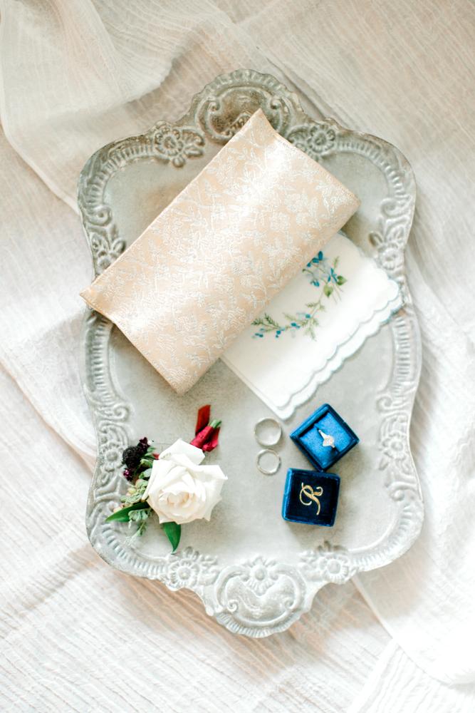 Wedding Detail Photography | Formal Vintage Wedding