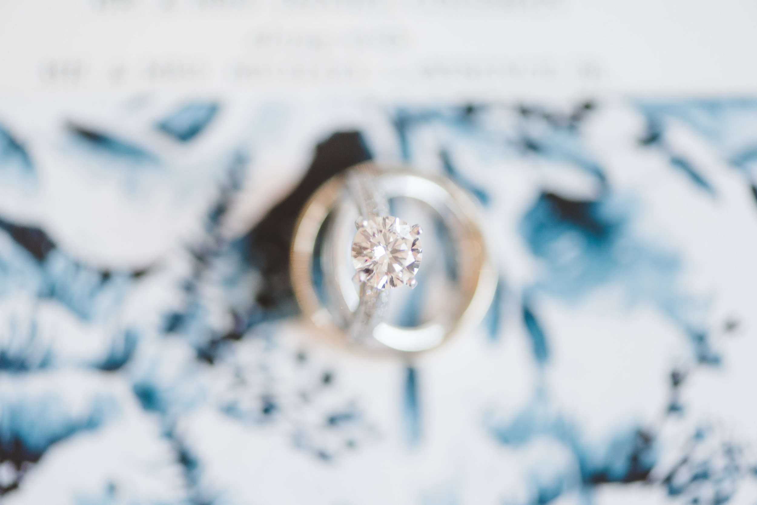 Detail Photography | Rose Gold and Dusty Blue Winter Wedding in Dallas, TX
