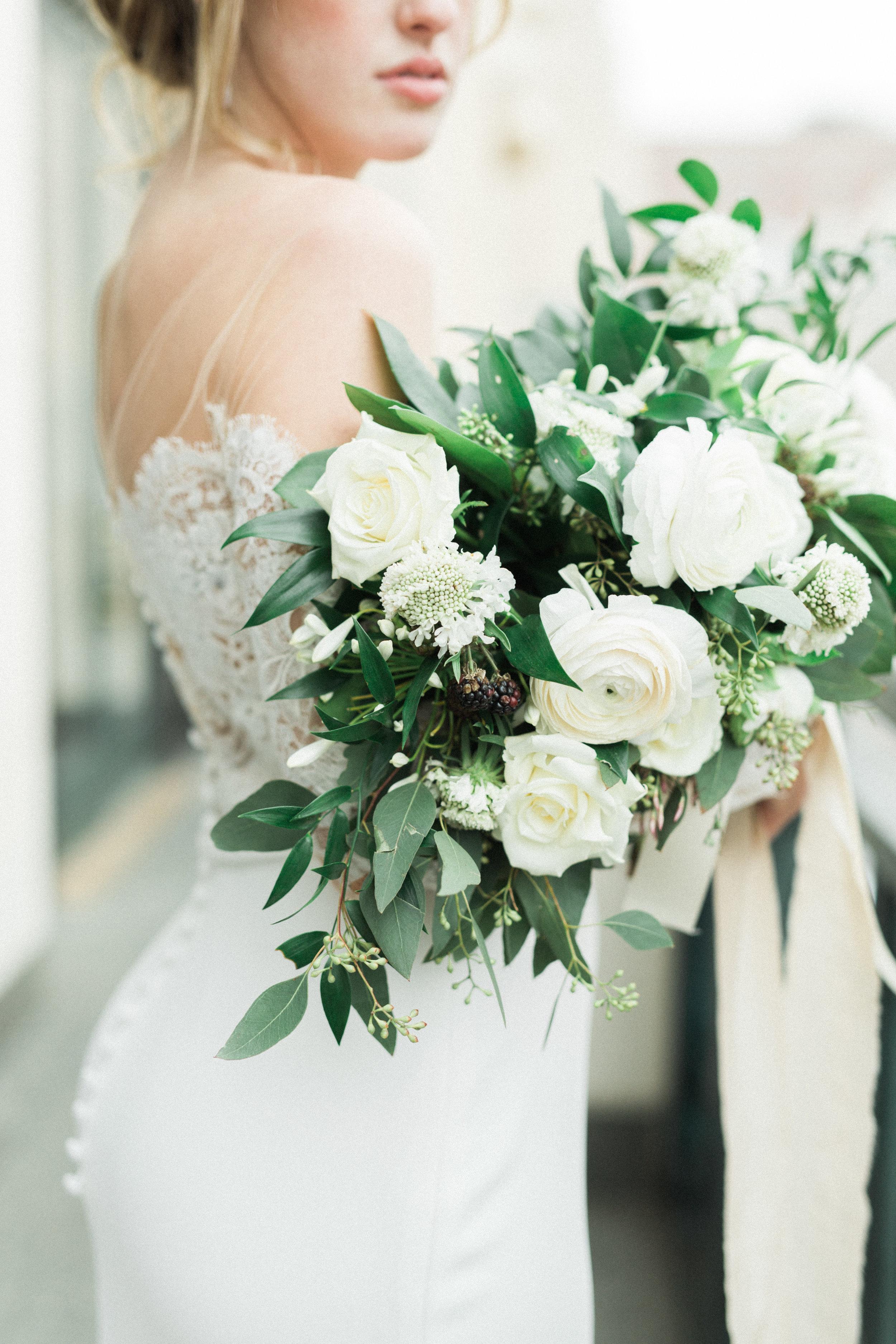 European Elopement Inspired Wedding