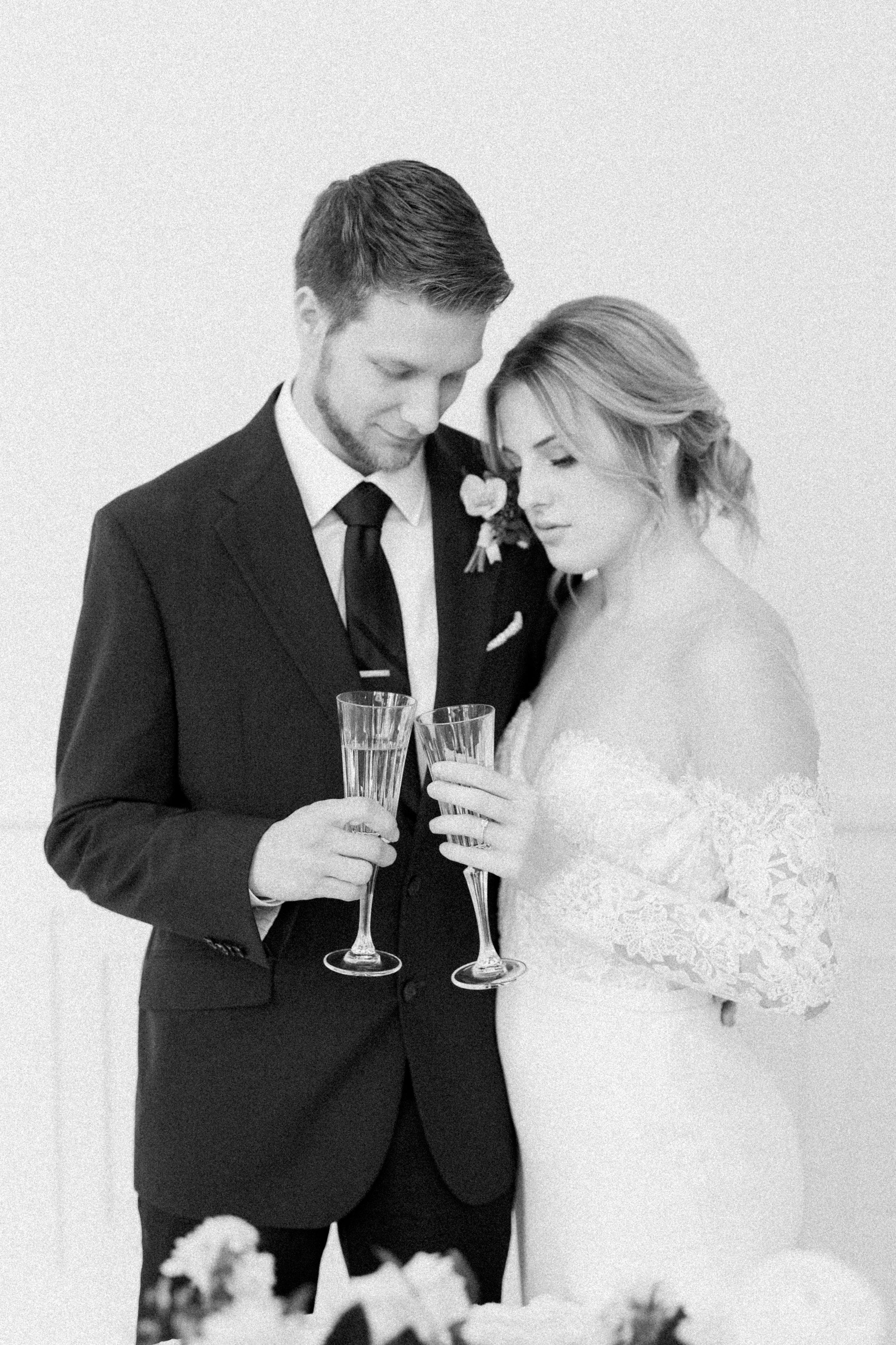 European Elopement Inspired Wedding   Downtown Fort Worth