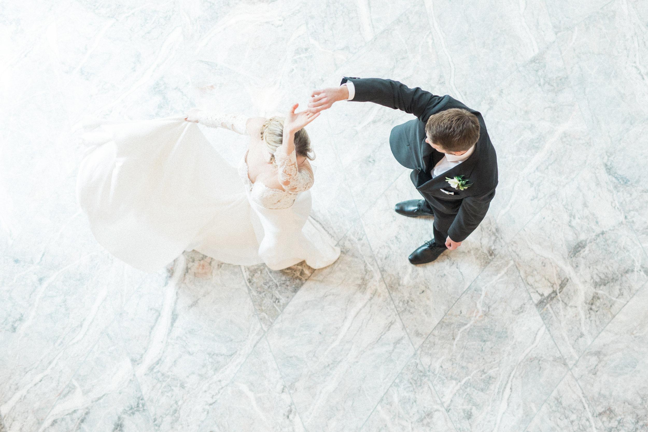 Bride and Groom First Dance   European Inspired Fine Art Wedding in Fort Worth